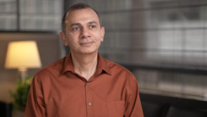 University of Michigan engineering professor Sherif El-Tawil, who developed the ultra-high-performance concrete.