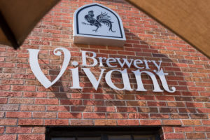 The Brewery Vivant storefront