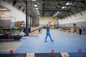 The warehouse at Neuvokas