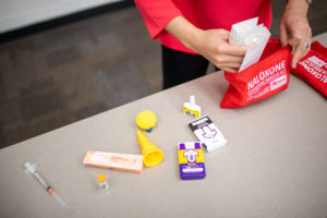 Packing a Naloxone kit