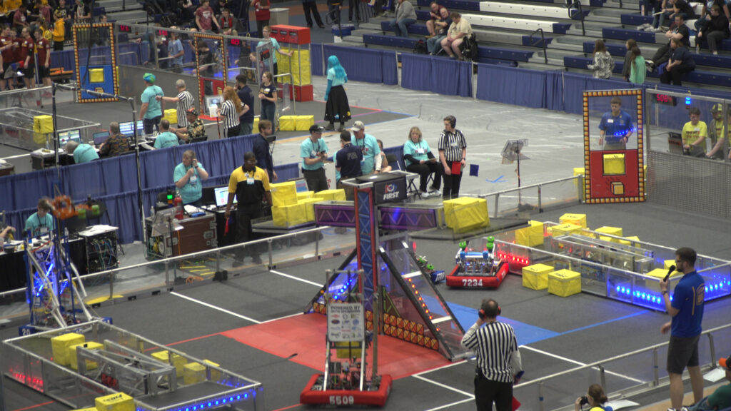 Nineteen Detroit high schools are now participating in the University of Michigan College of Engineering's FIRST Robotics program