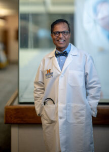 Hari Conjeevaram, MD, Professor of Medicine at the University of Michigan Medical School, says the Pinckney clinic is almost entirely run by the students.