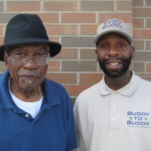 The University of Michigan's Buddy to Buddy Program helps veterans in many ways: it found a heater for a 97-year-old WWII vet who couldn't afford one and saved a disabled veteran couple from eviction, among many other things.