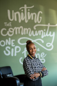 Jevona Watson, owner of Detroit Sip, was helped by the University of Michigan Detroit Neighborhood Entrepreneurs Project student team