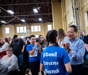 "Yo-Yo Ma at the the University of Michigan's University Musical Society UMS Day of Action: ""Culture can raise all voices in Flint to build a more inclusive and resilient community."""