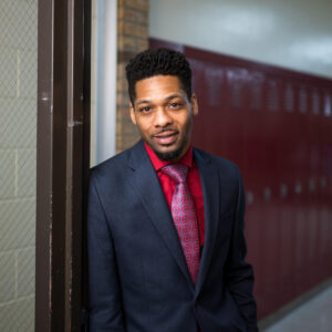 "Learning is ""a continuous process,"" says Thomas Allen Standifer II, principal of Mulick Park Elementary in Grand Rapids, Michigan, talking about the University of Michigan's TeachingWorks program."