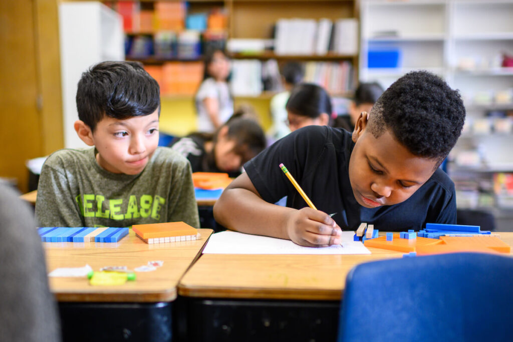 """The University of Michigan's TeachingWorks program is about """"the practice of teaching directly...in a way that enables you to actually help a child learn,"""" says U-M professor Deborah Ball."""