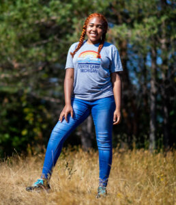 University of Michigan Earth Camper Nyah Maddox wants to study environmental science in college