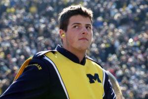 University of Michigan student Logan Frewen is a Marching Mountie alumnus