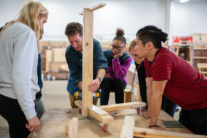 Hands-on projects with Nick Tobier, professor at the University of Michigan's Stamps School of Art & Design, and students at the Brightmoor Maker Space