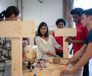More than 1,200 high school students have participated so far in the University of Michigan's Brightmoor Maker Space programs