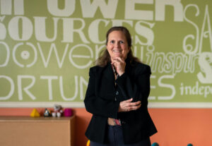 University of Michigan School of Social Work alumna Amy Good, CEO of Alternatives for Girls