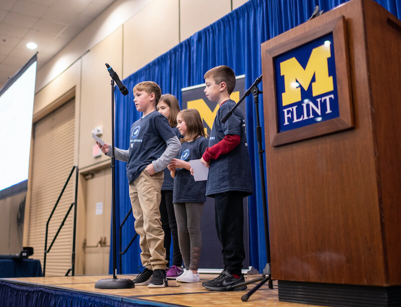 The University of Michigan-Flint hopes to expand the program to middle schools, and also geographically into Oakland County, eventually going statewide.
