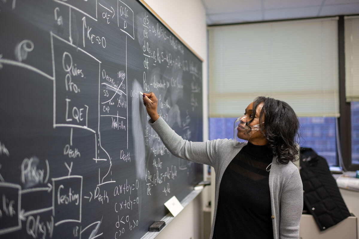 """""""I had mentors step into my life at just the right times,"""" says program director Trachette Jackson, explaining why the University of Michigan'sa Marjorie Lee Browne Program is so critical"""