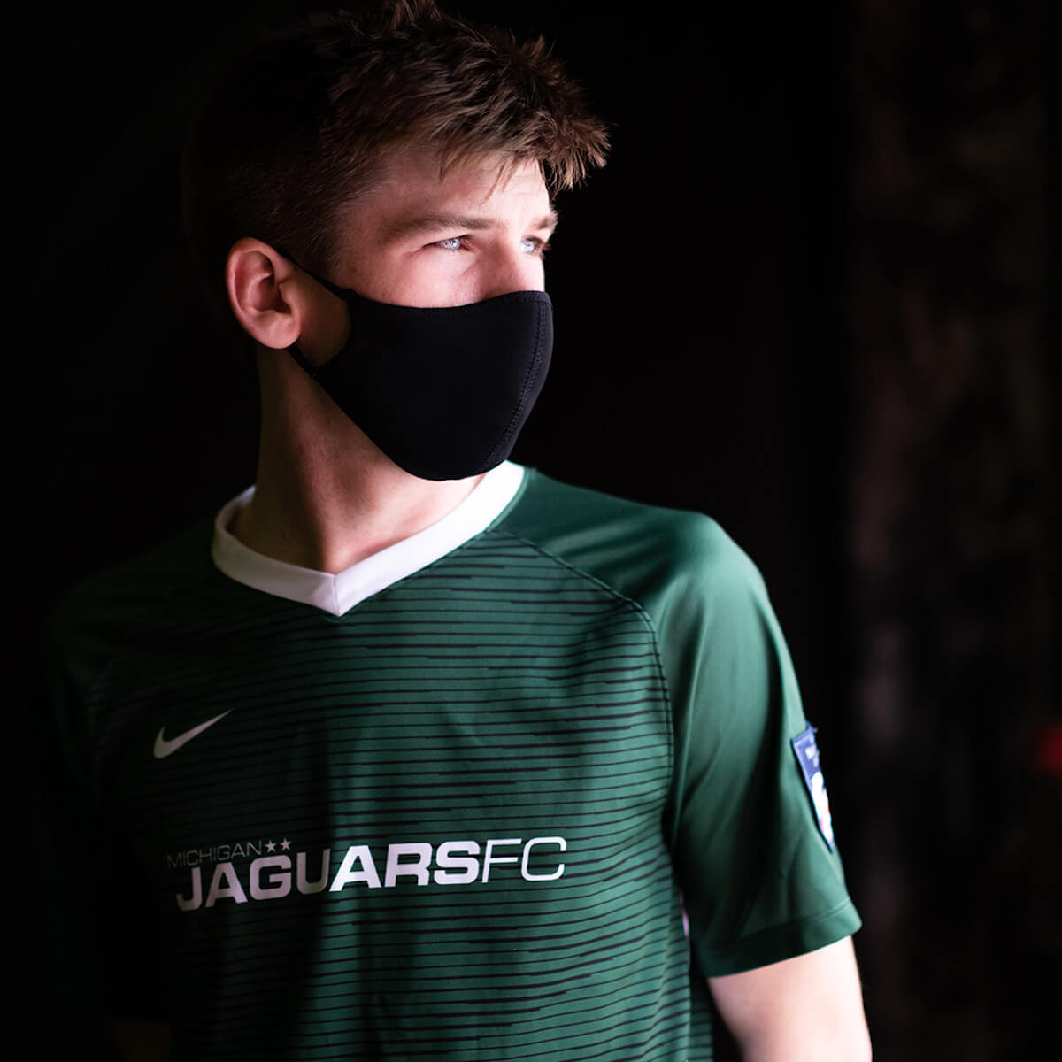 High school senior Jack Leuker, who plays for the Michigan Jaguars, a Novi-based club soccer team, is one of the players the University of Michigan's Return to Play program has helped