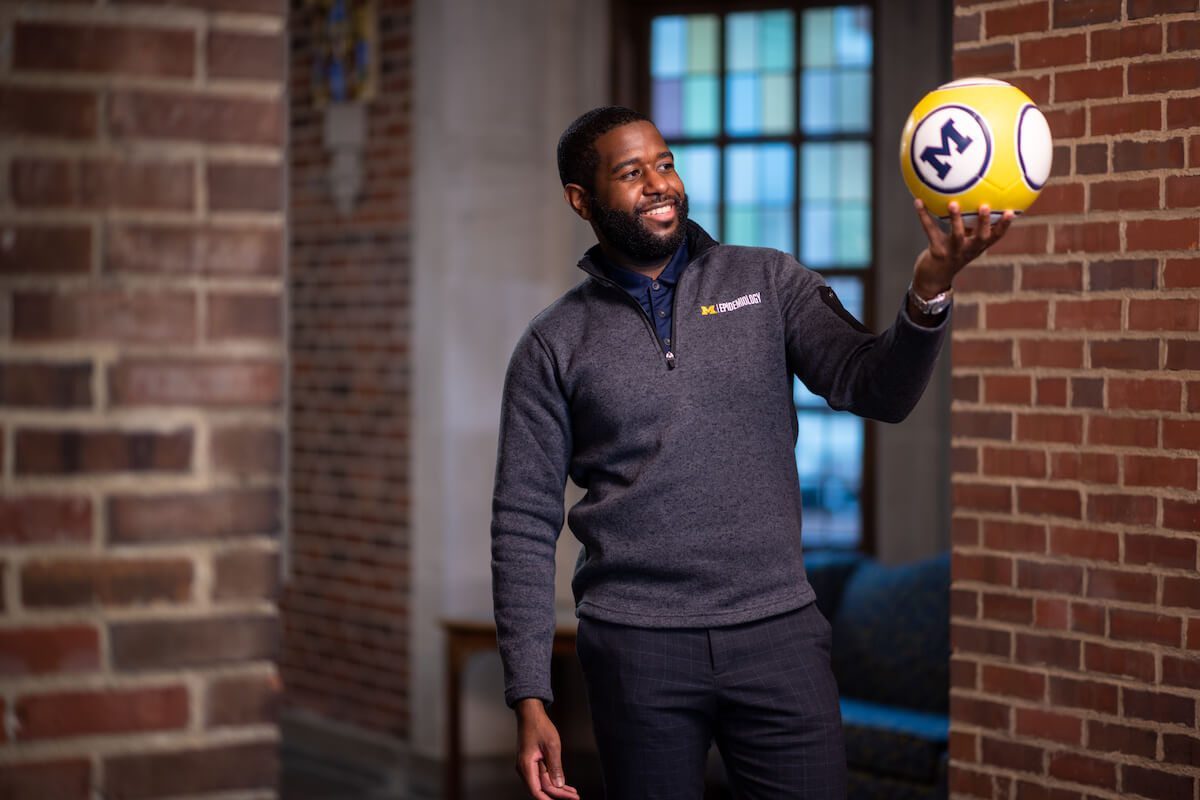 MSYSA's project offered an opportunity for University of Michigan School of Public Health students like Marcus McKay to apply classroom knowledge to a real-life scenario.