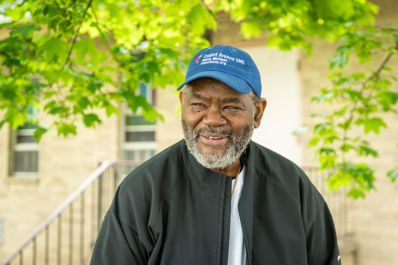 Rev. Willie F. Smith, pastor of Conant Avenue United Methodist Church, has partnered with the University of Michigan's Seven Mile organization to bring free art and coding lessons to the Detroit community.