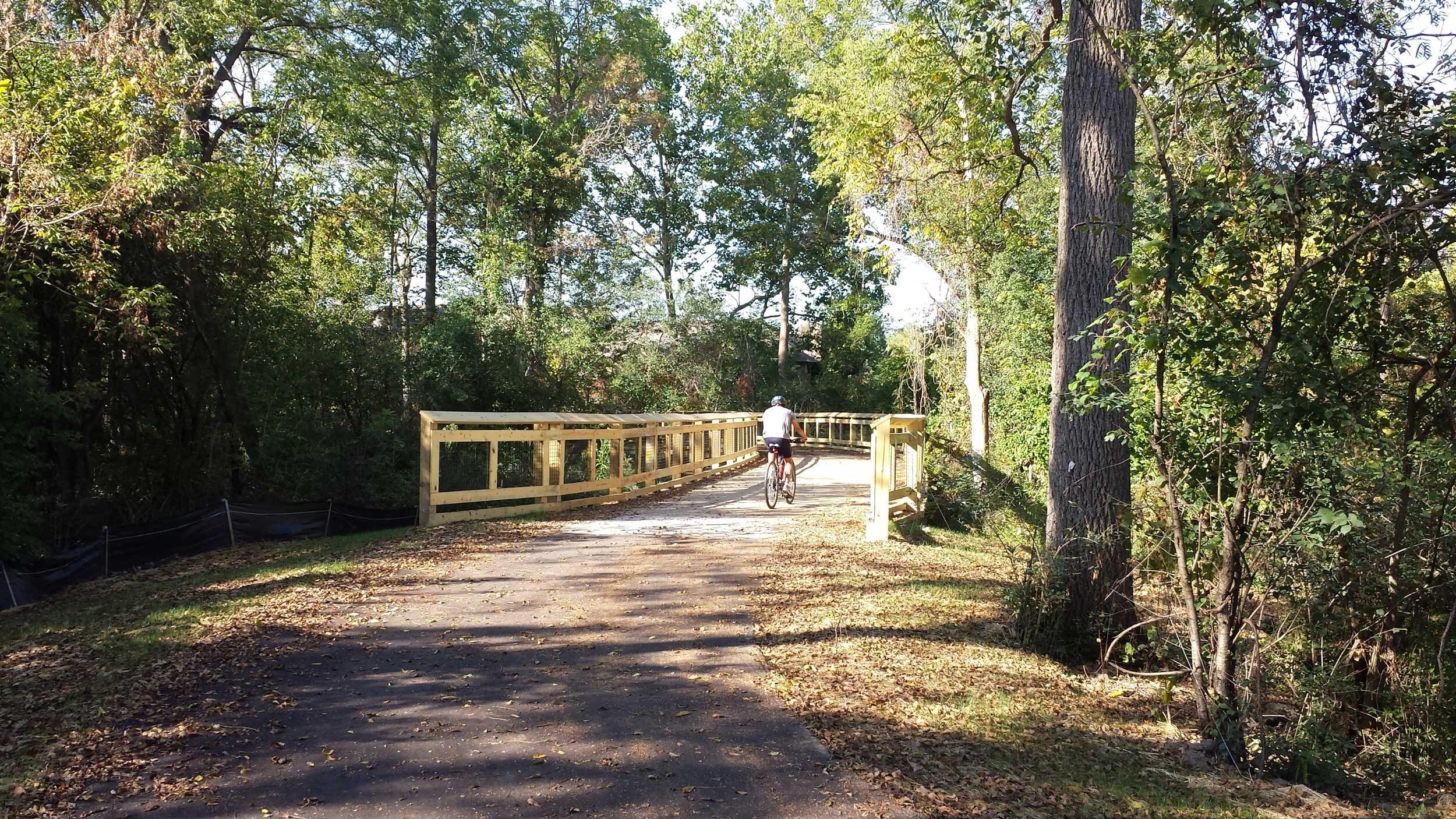 Trail opens linking u m botanical gardens to campus regional hiking biking routes michigan impact for University of michigan botanical gardens