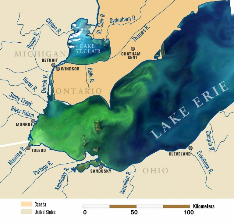 U-M researchers part of national effort to protect freshwater lakes from toxic algal blooms