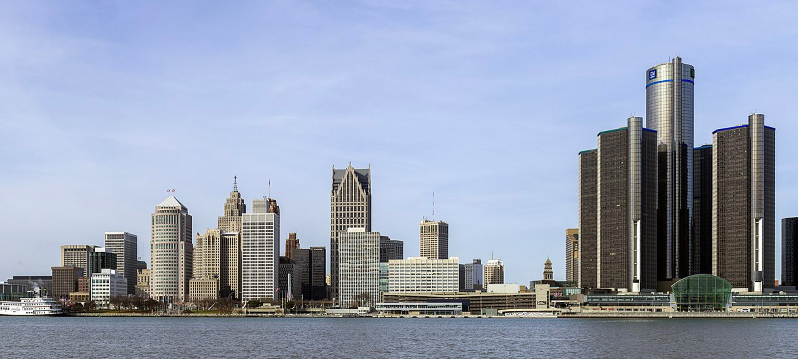 Detroit City landscape featuring the Search Results Web results Renaissance Center